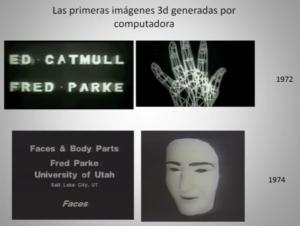 Primeros modelos de Edward Catmull