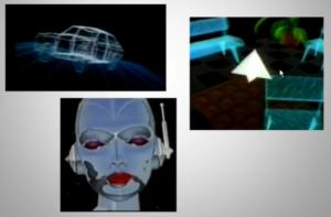 animación 3d en los 80s