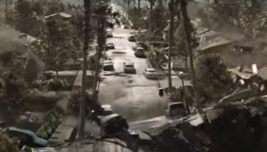 escena de película 2012 creada en 3ds Max